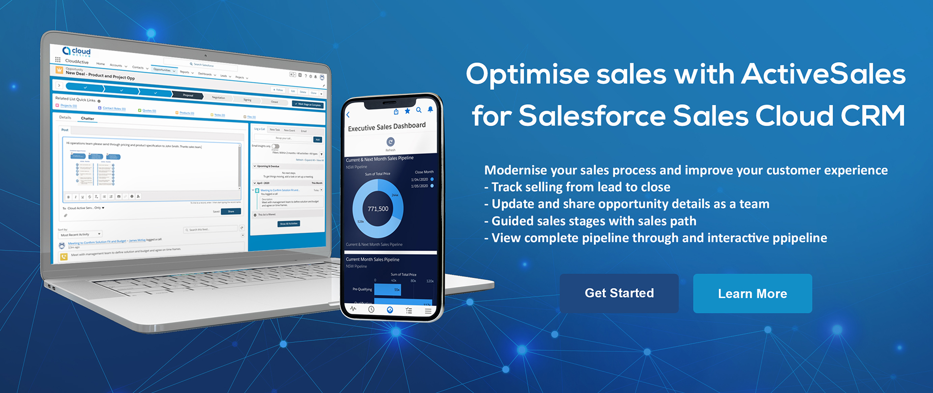 ActiveSales for Salesforce Sales Cloud CRM by CloudActive